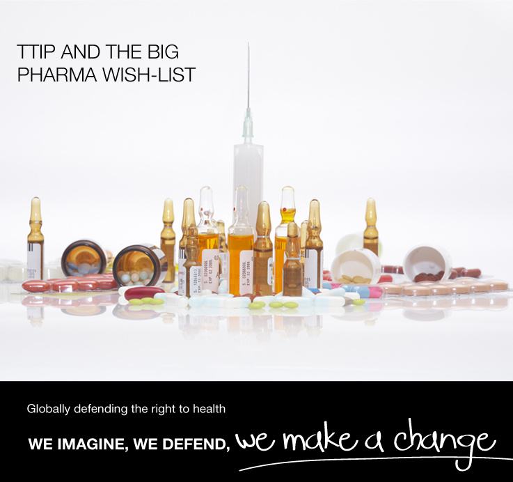 TTIP and the Big Pharma Wish-List