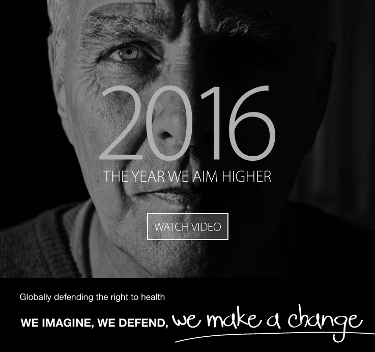 2016 - The year we aim higher