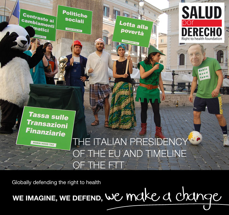 The Italian Presidency of the EU and Timeline of the FTT