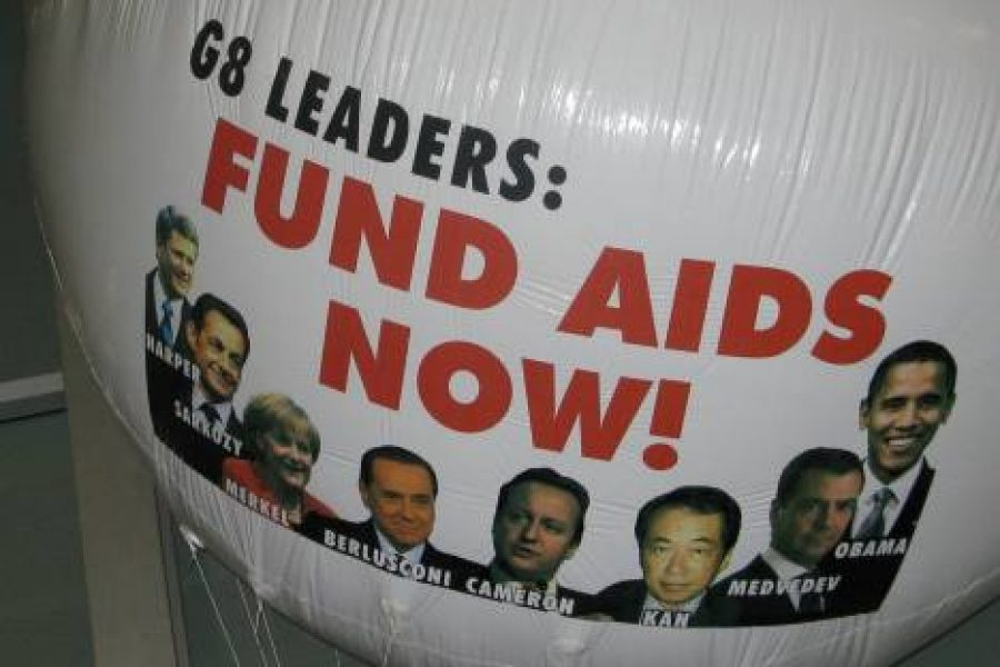 There will never be and end to AIDS without a fully funded Global Fund