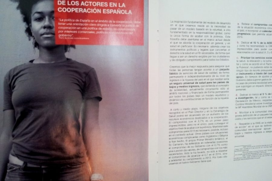 Presentamos una Hoja de Ruta para la Cooperación Española en Salud