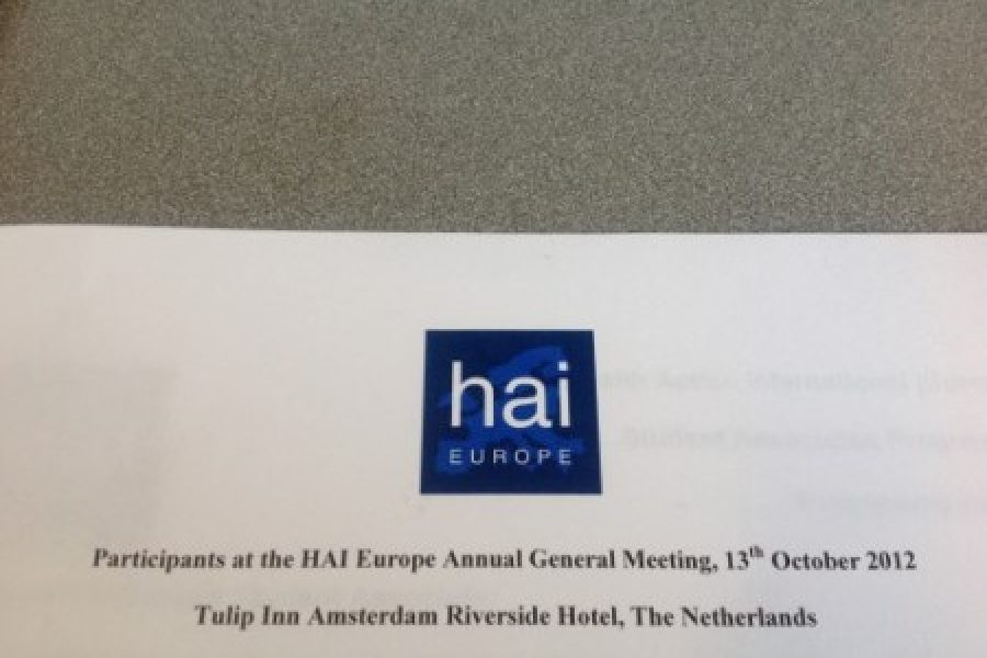 Salud por Derecho in the Annual General Meeting of HAI Europe