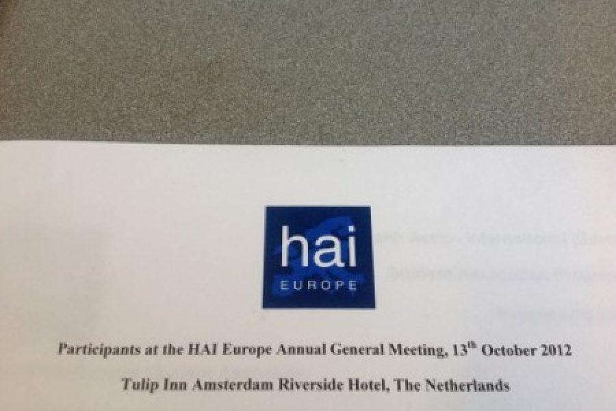 Salud por Derecho en la Asamblea Anual de HAI Europe