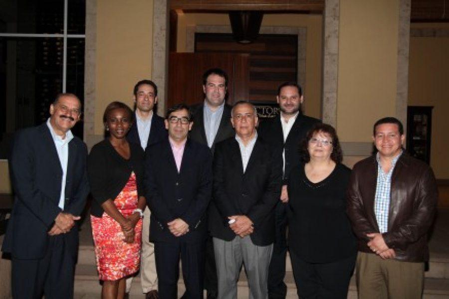 Visita de Diputados Españoles a Proyectos del Fondo Mundial en Honduras