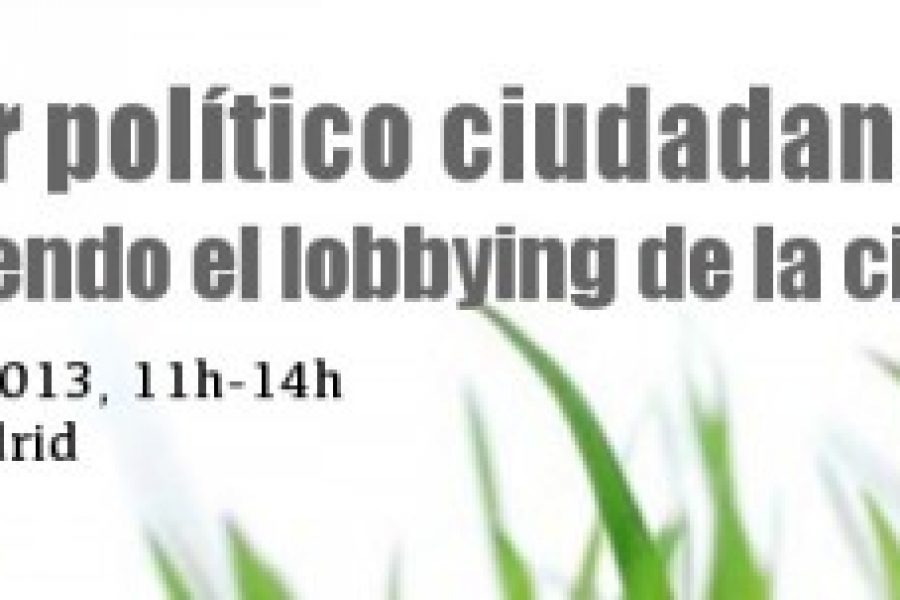 Citizens' Political Power: Building Citizenship Lobbying