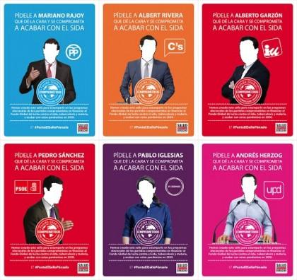 Salud Por Derecho pide un compromiso electoral para acabar con el sida en 2030