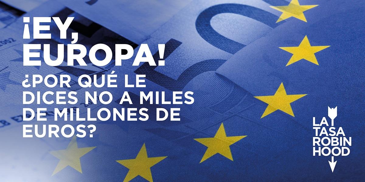 Denunciamos la falta de voluntad de los gobiernos europeos para ponerle un impuesto a la banca