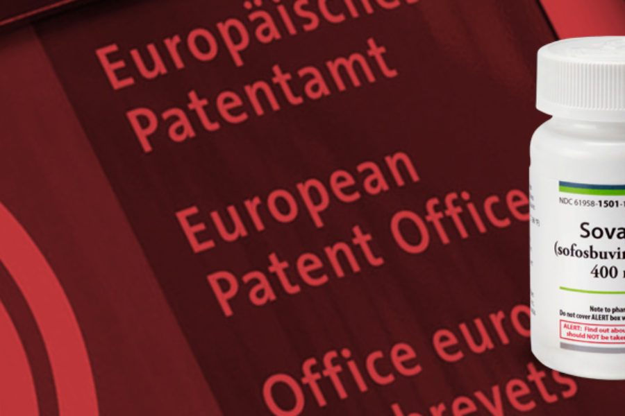 Disappointment: the European Patent Office maintains the sofosbuvir patent