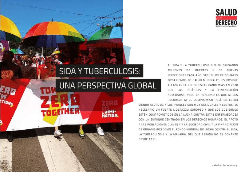 Sida y tuberculosis: una perspectiva global