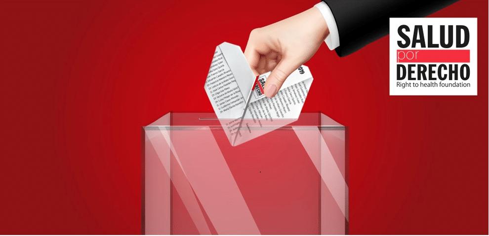 Elecciones Generales #Lasaludesloprimero