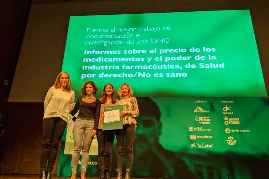 We won a Desalambre award!