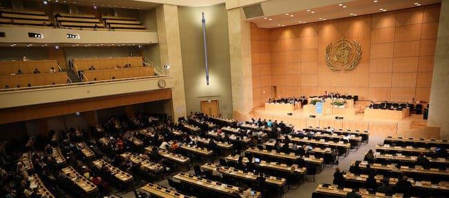 Una Asamblea Mundial de la Salud sin precedentes de la que se esperaba mucho
