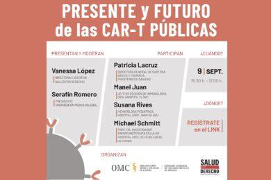Te invitamos a nuestro seminario «Presente y futuro de las CAR-T públicas»