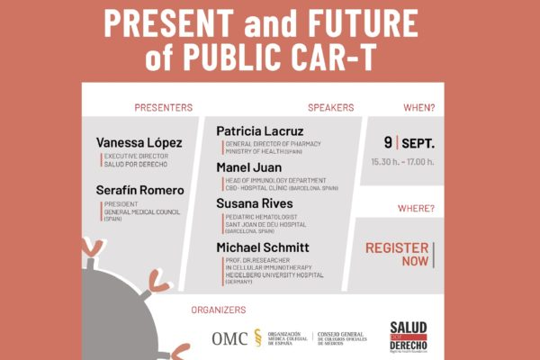 """We invite you to our seminar """"Present and future of pulblic Car-T"""""""