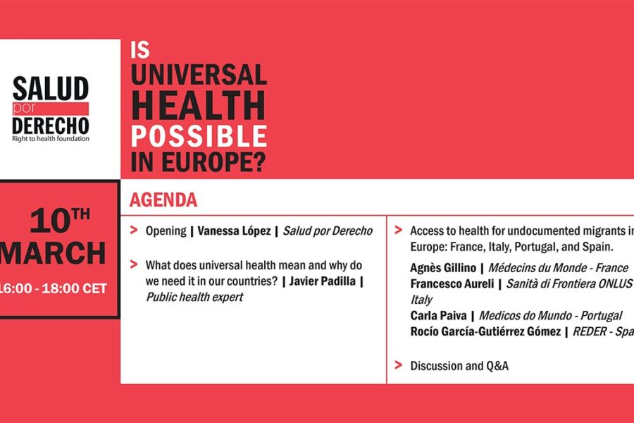 International event: Is Universal Health possible in Europe?